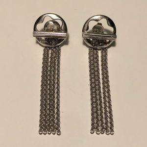 MontBlanc Sterling Silver Tassel Earrings